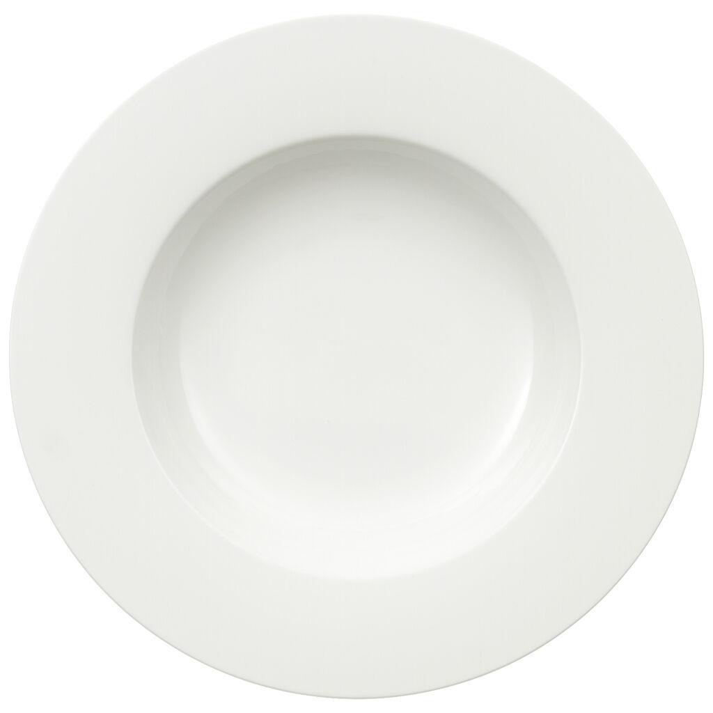 Artikel klicken und genauer betrachten! - Die klassische Geschirr-Kollektion Royal ist mit schlichter Form und zeitlosem Design der perfekte Begleiter zu jedem Anlass. Das breite Sortiment aus edlem Premium Bone Porcelain begeistert mit brillantem Glanz und besonders widerstandsfähiger Verarbeitung. Dieser Pasta-Teller mit einer klaren Formgebung und zeitloser Eleganz ist ideal für ein Dinner im mediterranen Stil oder das alltägliche Mittagessen. | im Online Shop kaufen